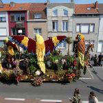 Bloemencorso van Blankenberge (België)