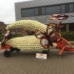 Kump goed met Vlinders op vlinderstruikbloem 2017