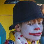 Clown closeup