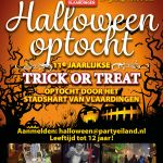 Halloween optocht in Winkelhart Vlaardingen