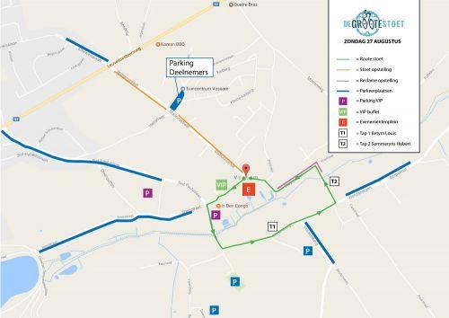 Route Groote Stoet