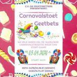 Flyer Carnavalstoet 2019