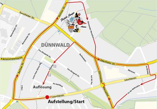 Zugweg Dünnwald