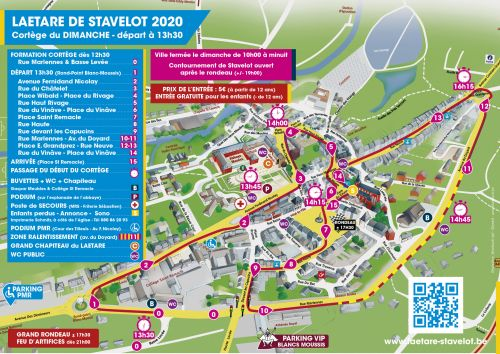 Parcours laetare stavelot