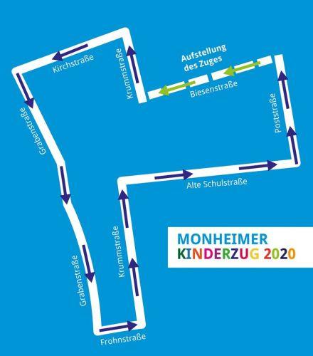 Zugweg kinderzug monheim
