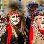 Mascarade bij de optocht in Dongen