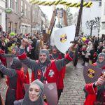 Grote loopgroep Carnaval IJsselstein