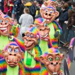 Grote Optocht Apestad 2016: loopgroep