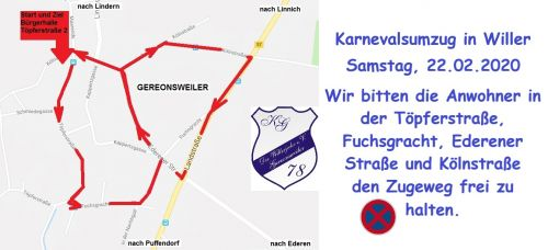 Zugweg Gereonsweiler