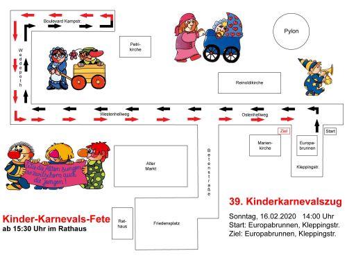 Zugweg Kinderzug Dortmund