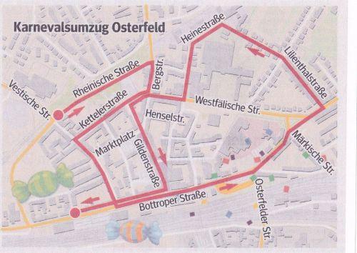 Zugweg Kinderzug Osterfeld