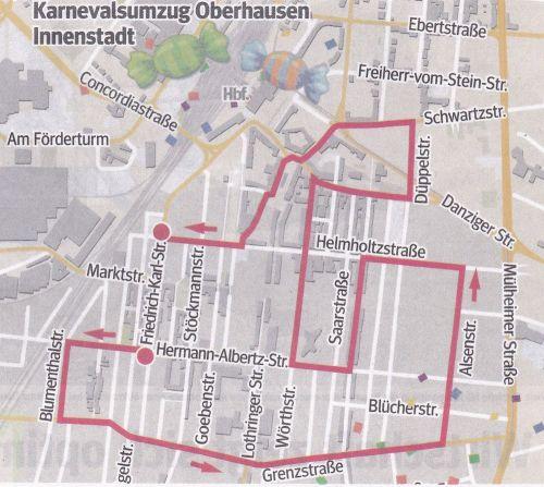 Zugweg alt-oberhausen