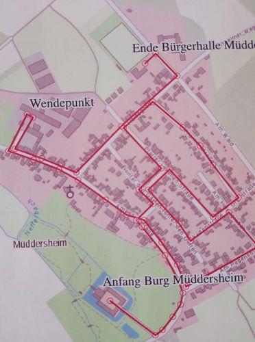 Zugweg Müddersheim
