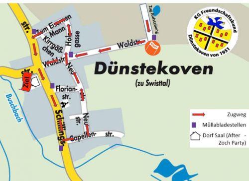 Zugweg Dünstekoven