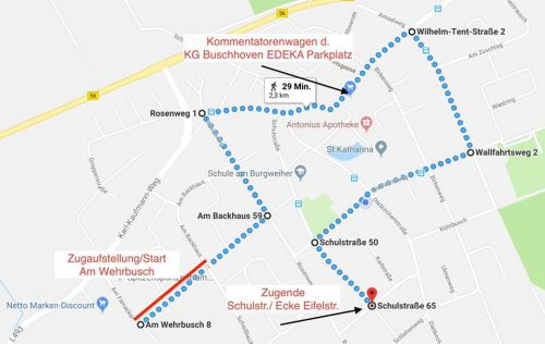 Zugweg buschhoven