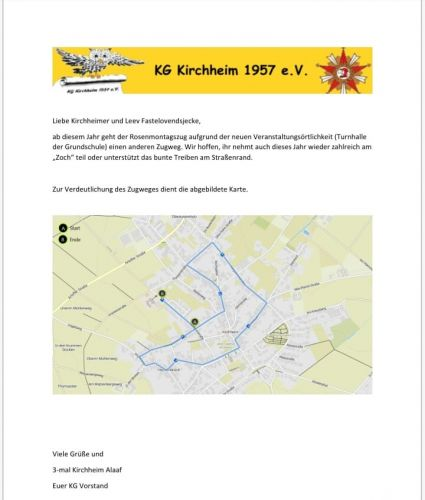 Zugweg Kirchheim