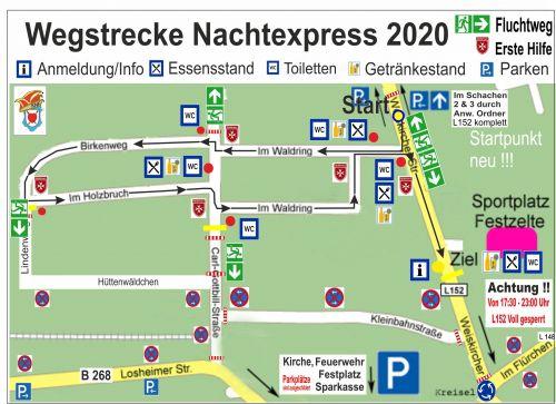 Zugweg Nachtexpress Nunkirchen 1