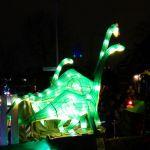 Groene dinosaurussen in Hengelo 2016