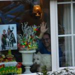Genieten van achter het raam
