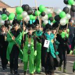 Jeugdige carnavalsgroep