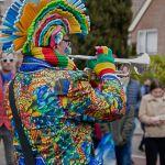Optocht Heerlerbaan in Heerlen 04-03-2019