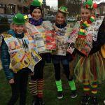 De meiden van vers van de pers van basisschool kerensheide