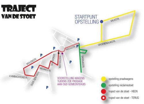 Route - Omloop 2020