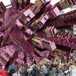 'Booming city', winnaar corso Zundert 2008