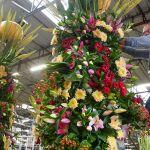 Hard werken aan mooie creaties van Flower Parade Rijnsburg
