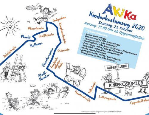 Zugweg Kinderzug Aachen