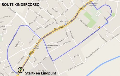 Route Kindercorso